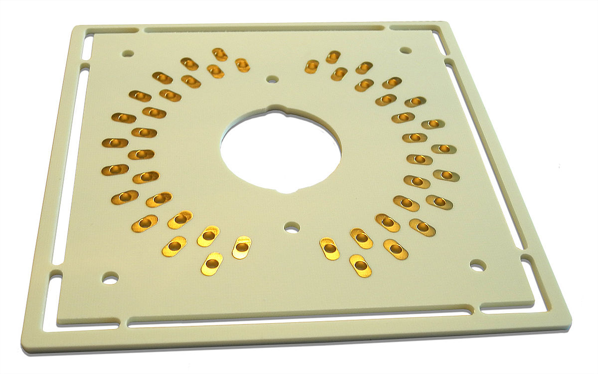 An Example Of The Rf Circuit Components Layout On A Pcb Board