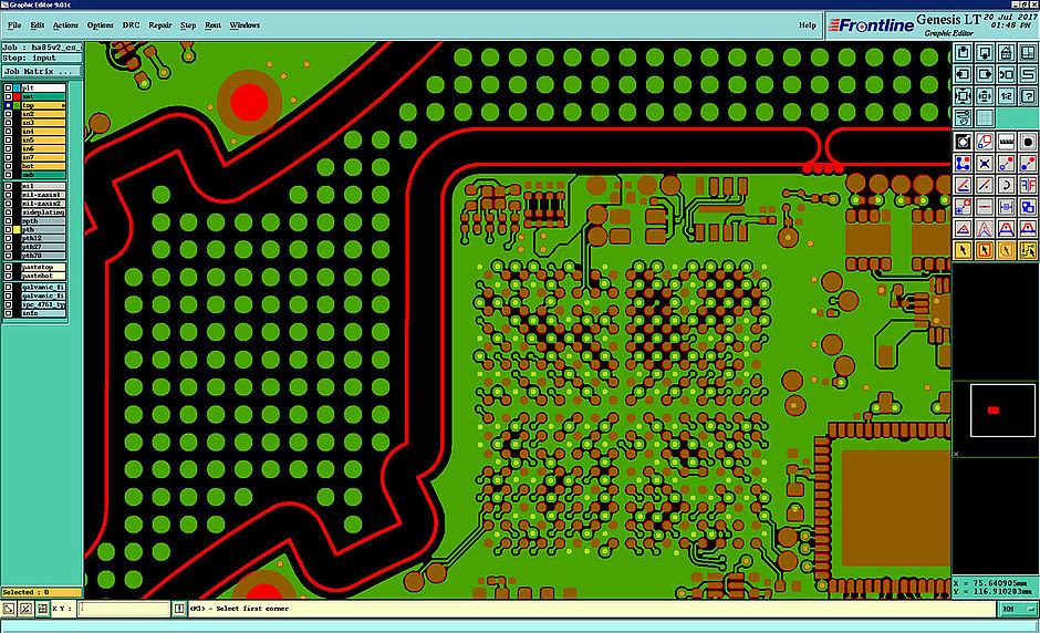 PCB layout - Multi Circuit Boards
