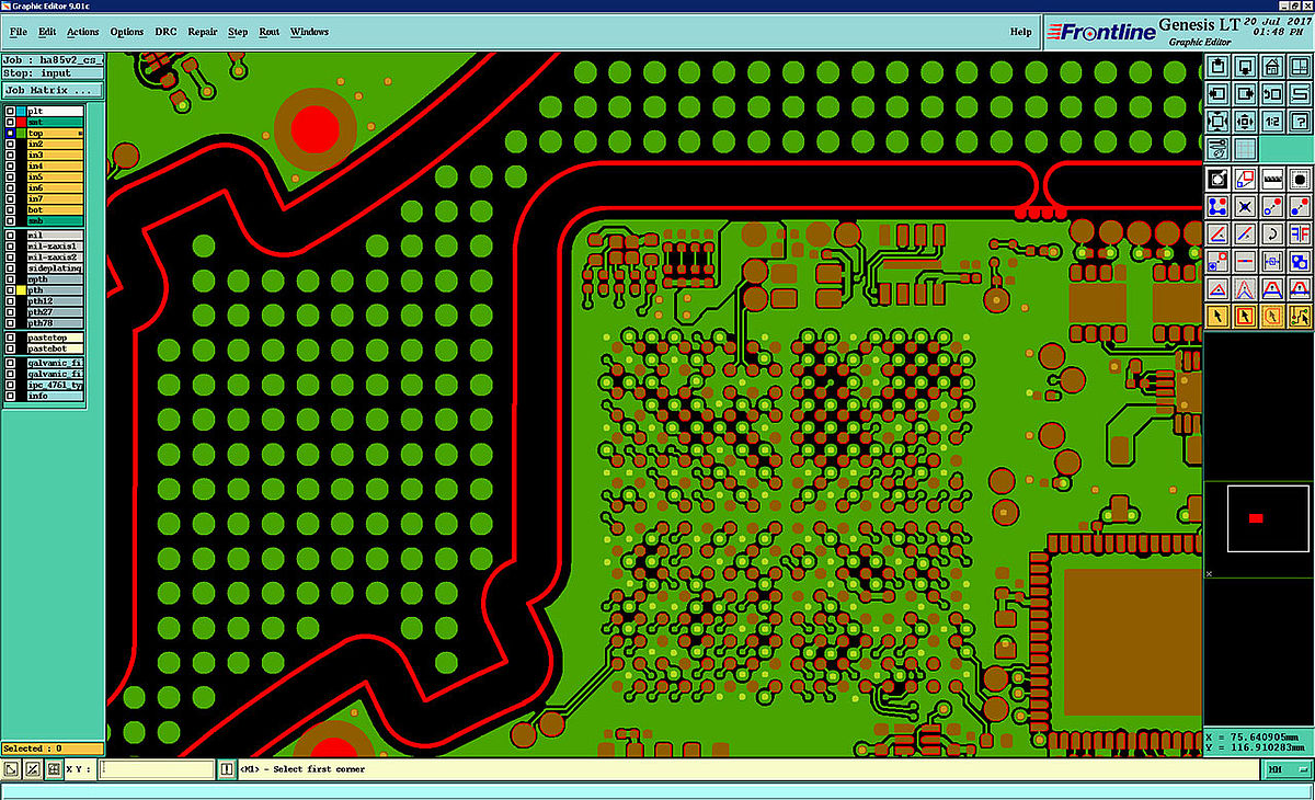 Simple Circuit Board Design The Circuit Board Picture Here