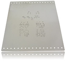 SMD-Stencil example