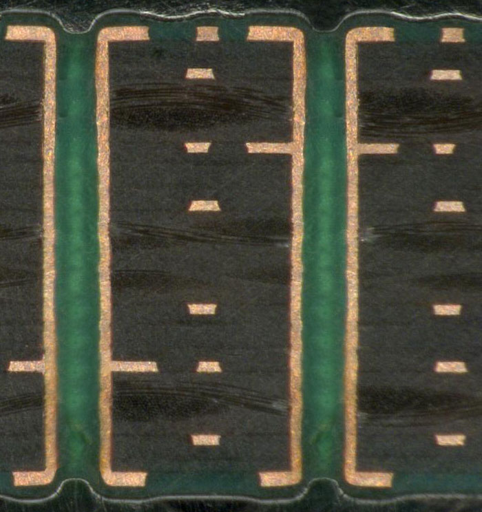 8 Layer Printed Circuit Board Microsection