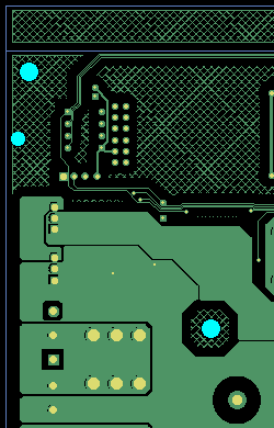 PCB with additional copper